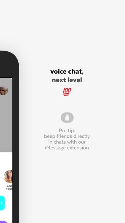 Beep - Friends Messenger screenshot-4