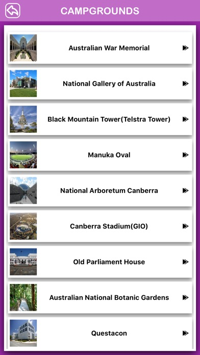 Canberra City Offline Guide screenshot three