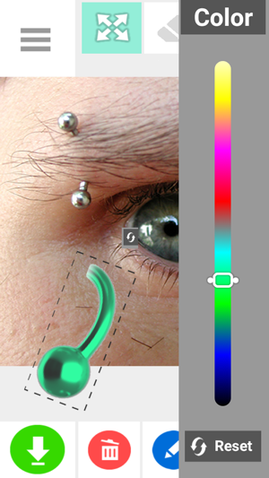 Piercing Photo Editor FX Screenshot