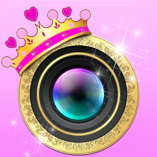 Princess-Gram™ - Easy To Use FX Photo Editor To Makeover Your Photos With Sparkles, Glows and Twinkles FREE Edition iOS App