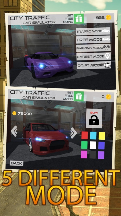 City Traffic Car Simulator