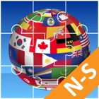 Jigsaw Puzzle National Flag NS icon