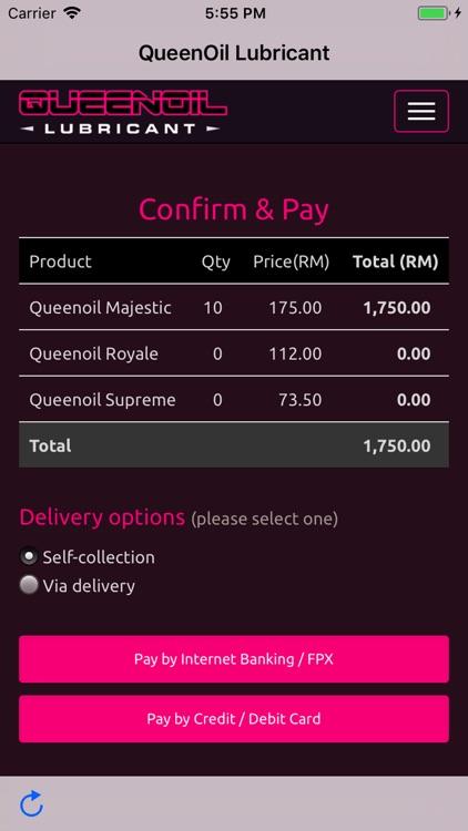 Queenoil Lubricant App screenshot-4