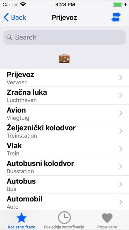 Useful Dutch Slovenian phrases screenshot-4