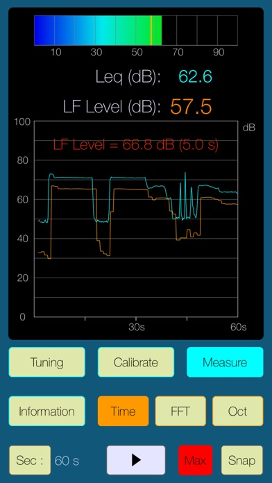 Low Frequency Detector screenshot1
