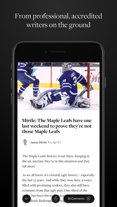 The Athletic app image