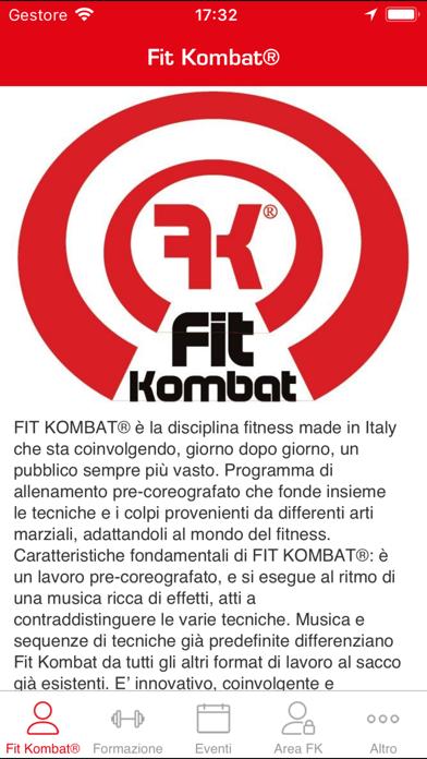 Fit Kombat screenshot two