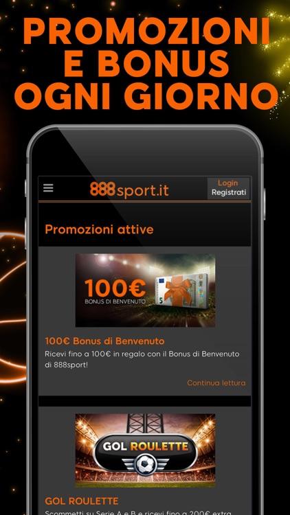 888 Sport - Scommesse sportive screenshot-4