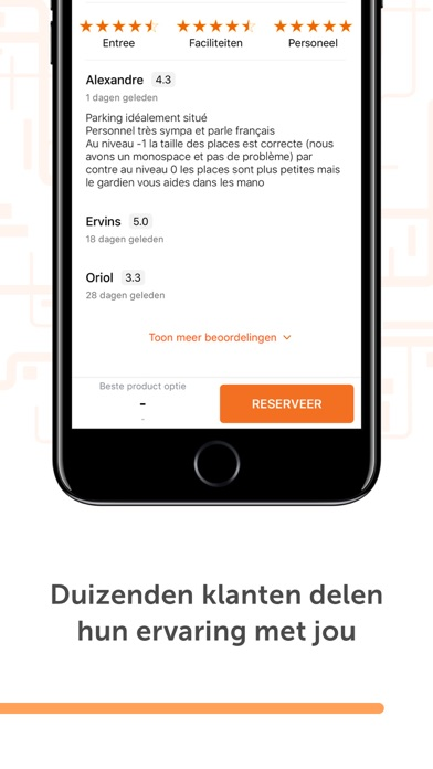 Screenshot for Parclick in Netherlands App Store