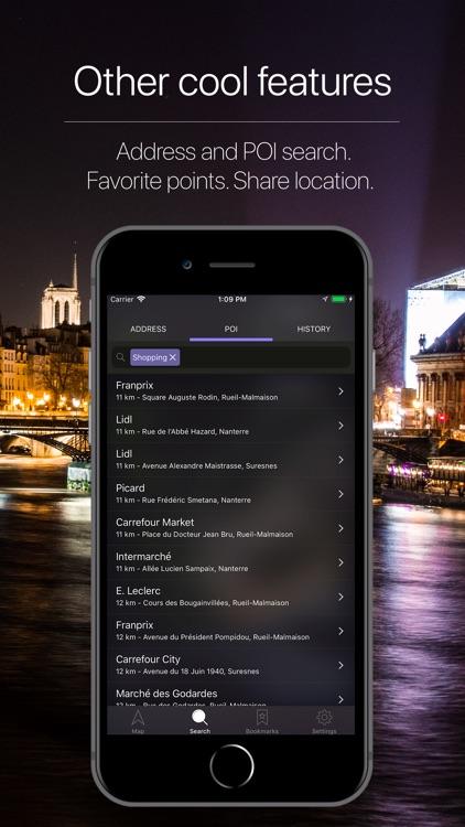 Paris Offline Navigation screenshot-4