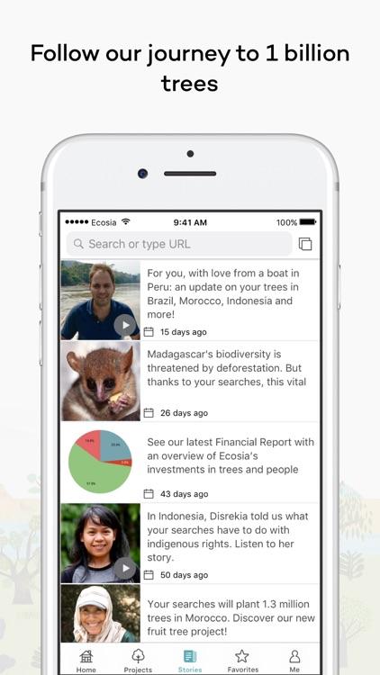 Ecosia screenshot-3