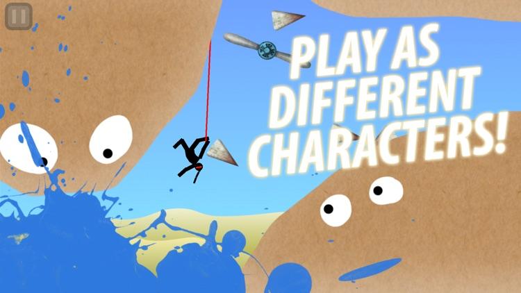 Hanger - Rope Swing Game screenshot-3