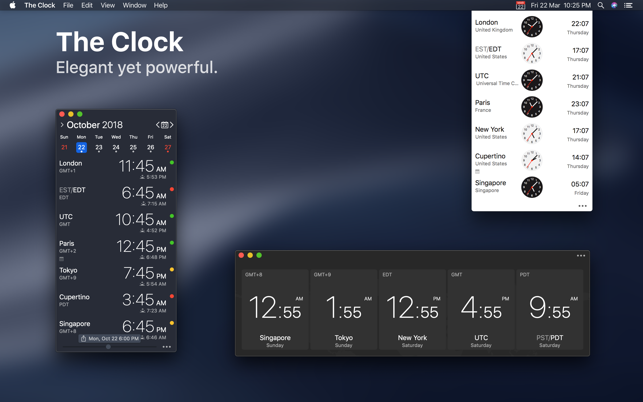 world clock download mac os x