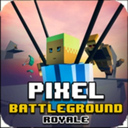 Pixel Battle Royale Ground Gun