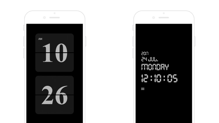 OneClock - A Simple Flip Clock