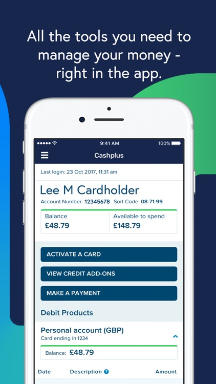Cashplus Mobile App screenshot-1