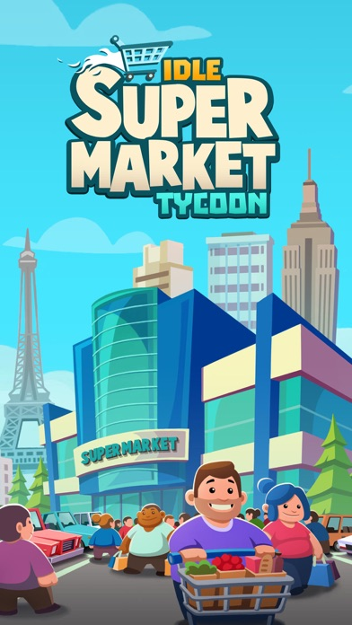 Idle Supermarket Tycoon - Shop Screenshot 1
