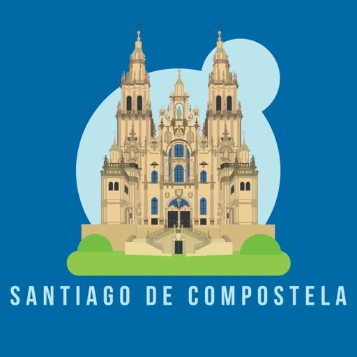 サンティアゴ・デ・コンポステーラ 旅行 ガイド &マップ