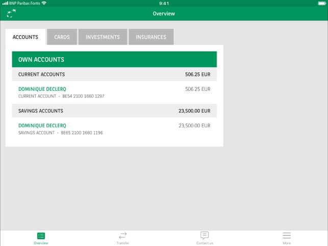 easy banking fortis