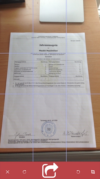 Smart document scanning