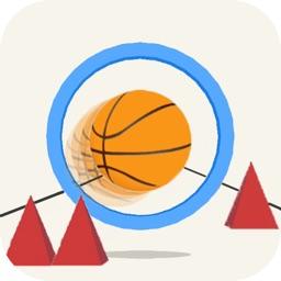 Pinball Rush-basketball bounce