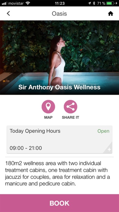 Screenshot for Hotel Sir Anthony in Thailand App Store
