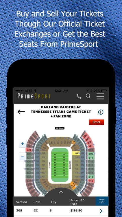 PrimeSport-Sports tickets, vip hospitality, events screenshot-4