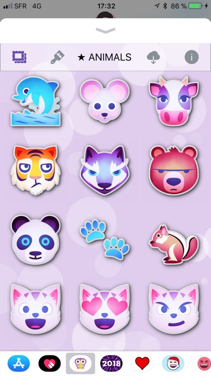 Animals Emoji • Stickers screenshot-3
