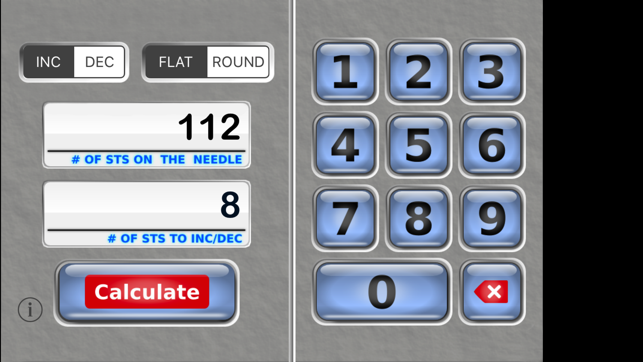Knitting Calculator App : Knit evenly calculator on the app store