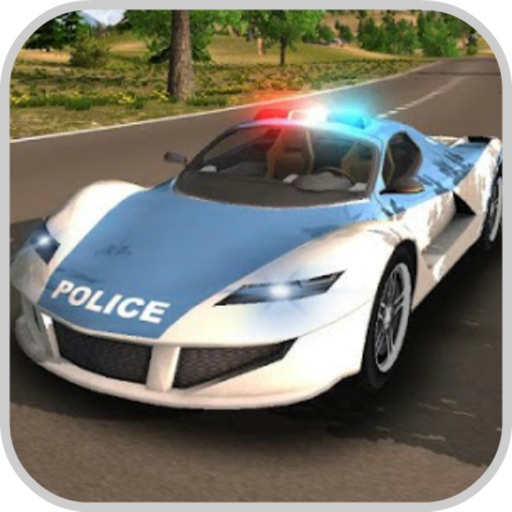 Police Car Chase Street Racers app for ipad