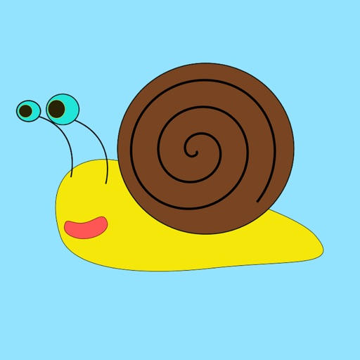 Slow Poke Snail Sticker Pack