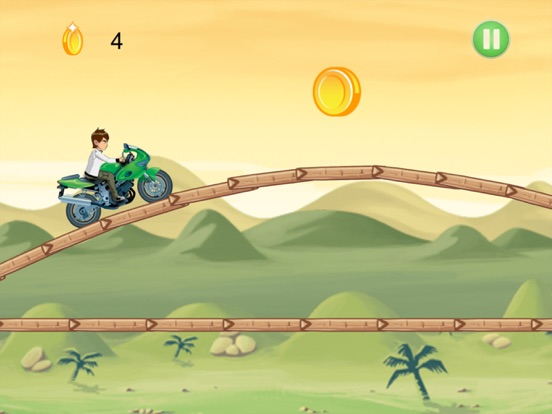 Ben Motorcycle Stunt Racing-ipad-2