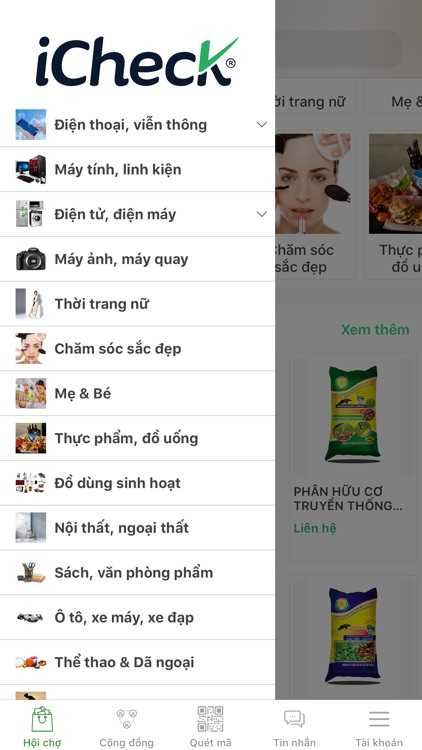 iCheck Expo - Chợ sỉ online