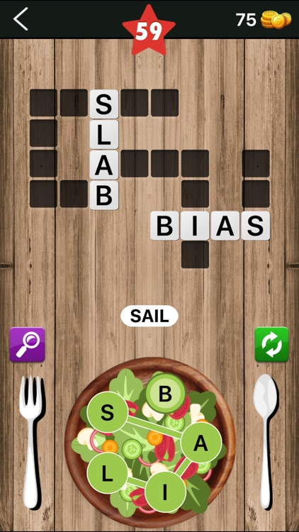 Word Salad : Connect Letters screenshot-4