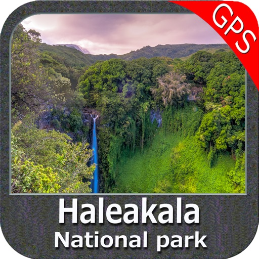 Haleakala National Park - GPS Map Navigator