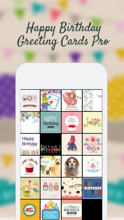 Happy Birthday Greeting Cards Pro