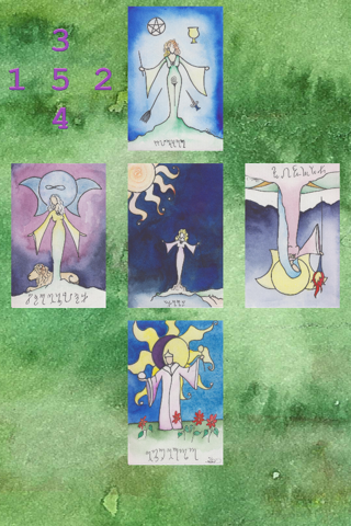 Witches Tarot Lite - náhled