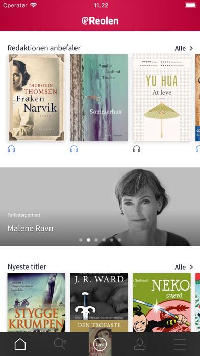 Screenshot for eReolen in Denmark App Store