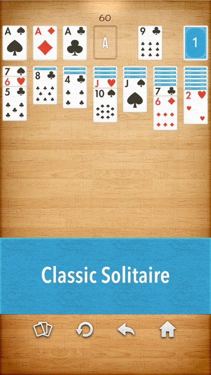 Solitaire Klondike game cards