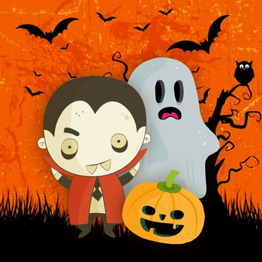 Cute Halloween Monsters Stickerpack