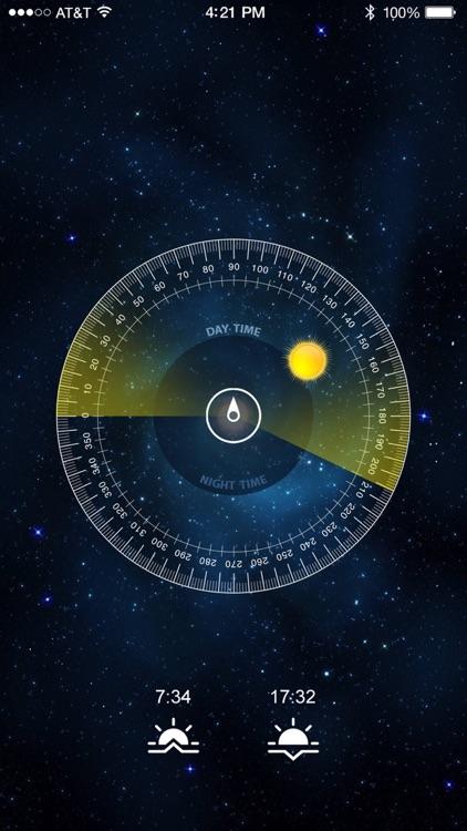 Sun Locator - Find the Sun