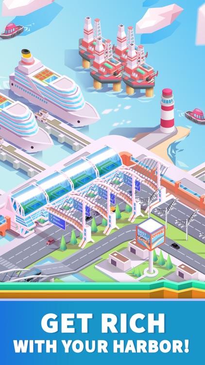 Idle Harbor Tycoon - Sea Docks
