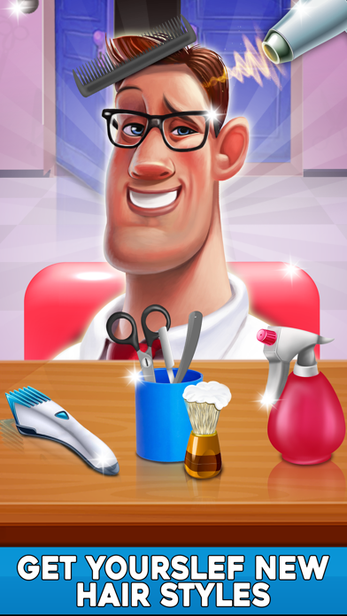 Virtual Stylist Hair Cut Game