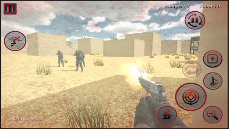 Army Man Survival Simulator 3D screenshot-3