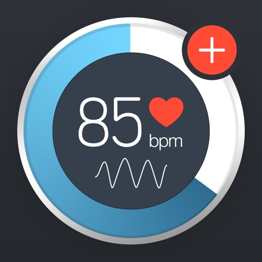 Instant Heart Rate+ HR Monitor app logo