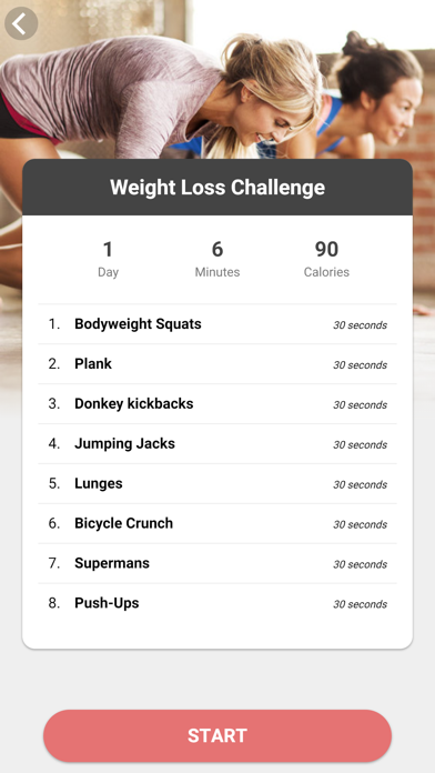 The Fitness Challenge screenshot four