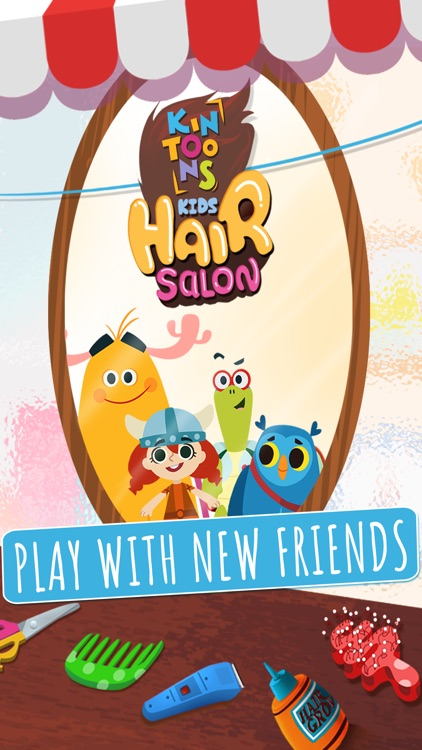 KinToons - Kids Hair Salon screenshot-0