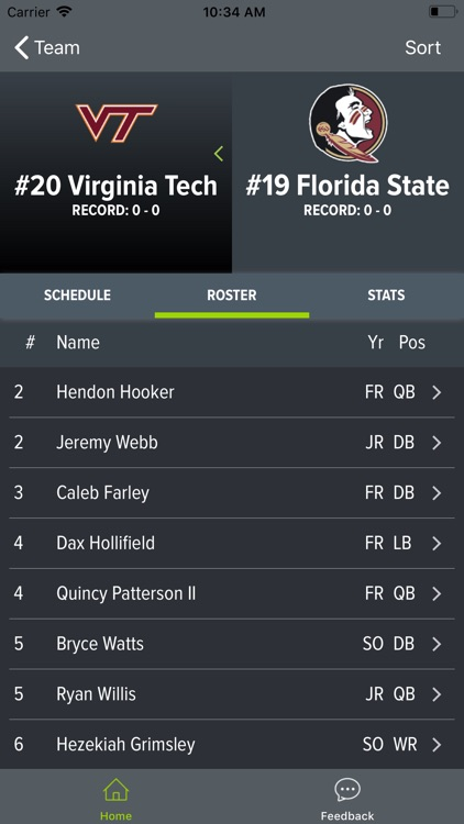 Virginia Tech Football screenshot-1