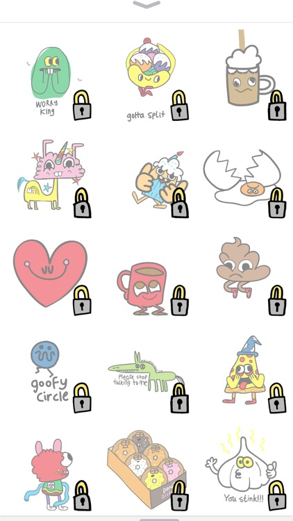 Burgerworld Animated Stickers