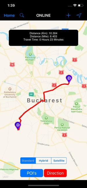 Bucharest (Romania) – City Map